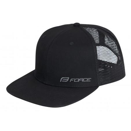 Sapca Force Trucker logo black