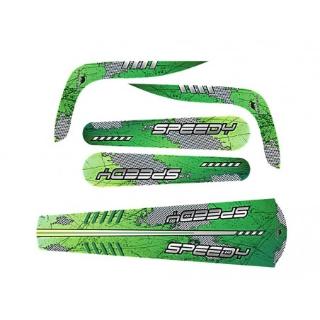 Set Stickere Speedy (verde)