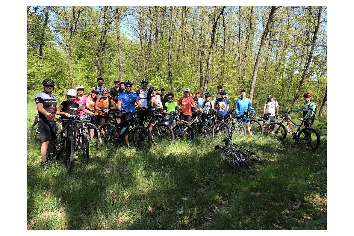 O zi pe biciclete, in familie