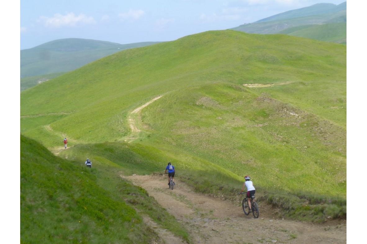 Trasee de mtb în munţii Ciucaş, Siriu, Grohotiş şi Tătaru