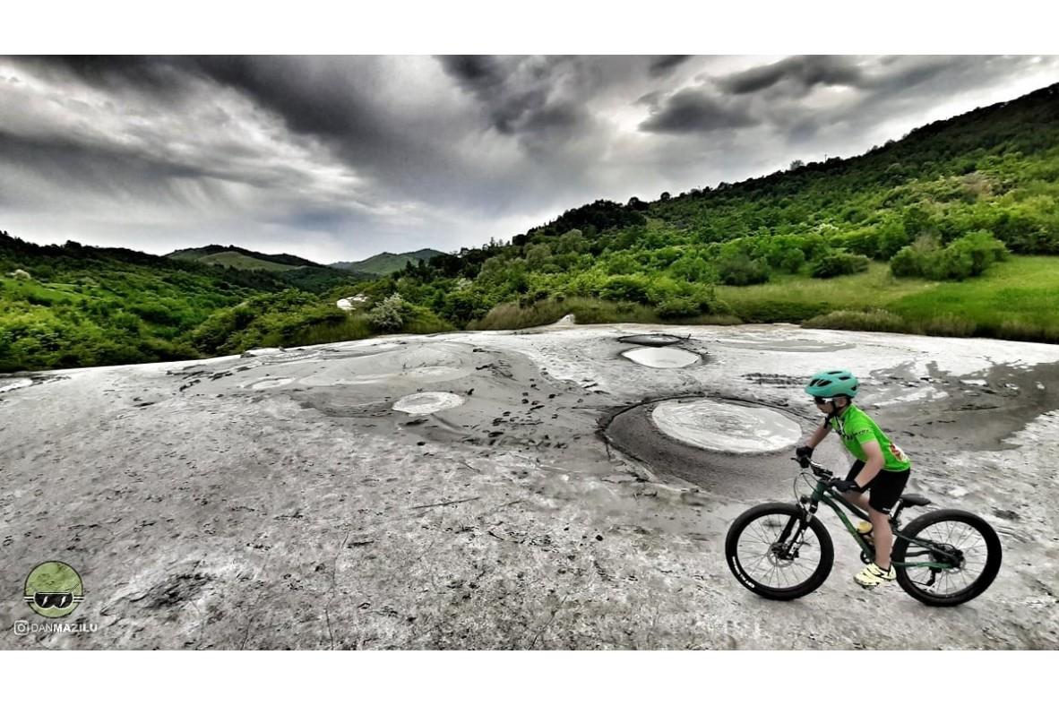 Traseu de mtb sau gravel – Circuit la Vulcanii Norioși